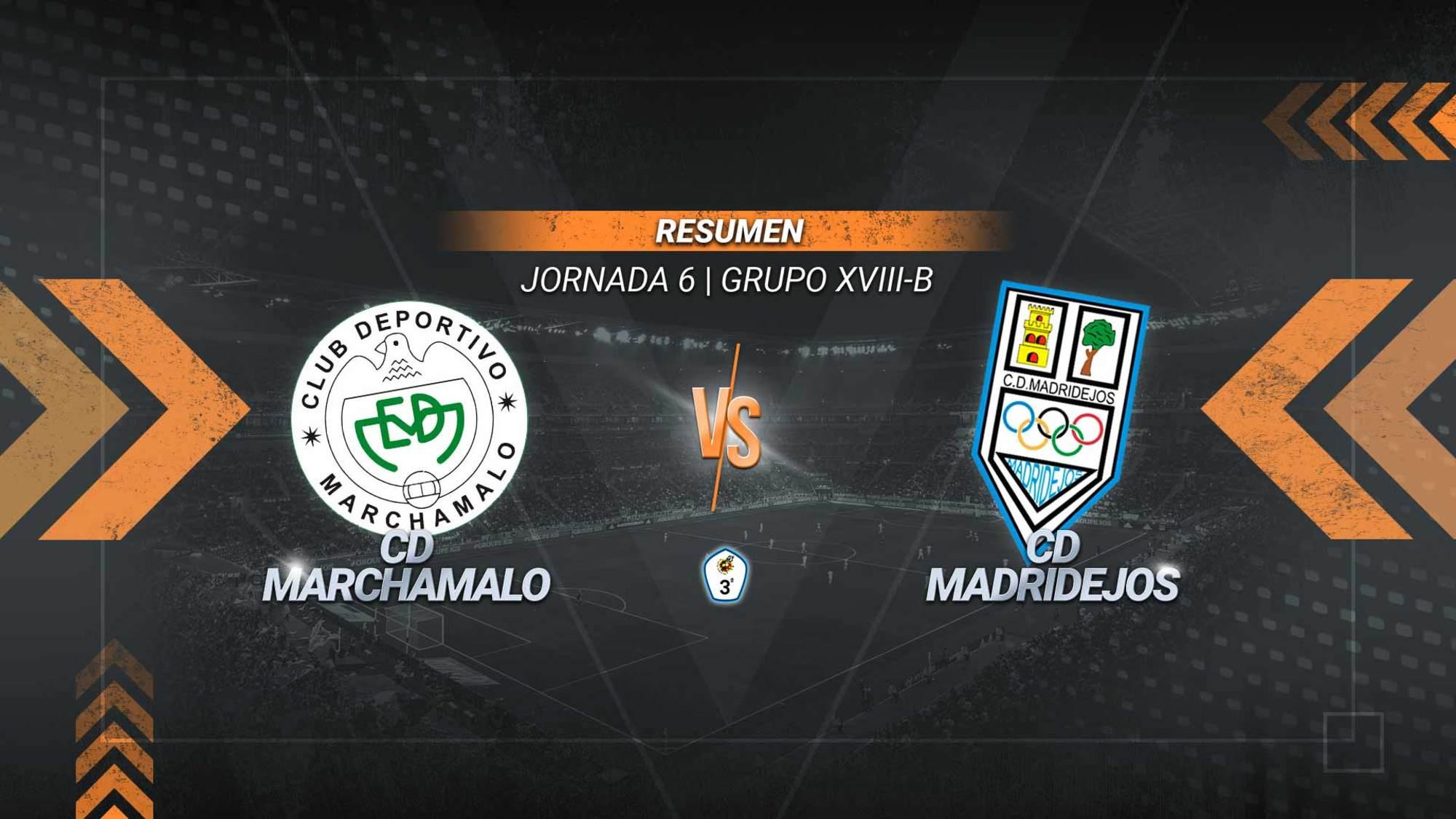 El Marchamalo consigue el primer triunfo del 2021 y es líder en solitario del subgrupo B. Un gol de Juan en la segunda parte permite a los gallardos alcanzar los 22 puntos. El Madridejos se queda penúltimo con 5.