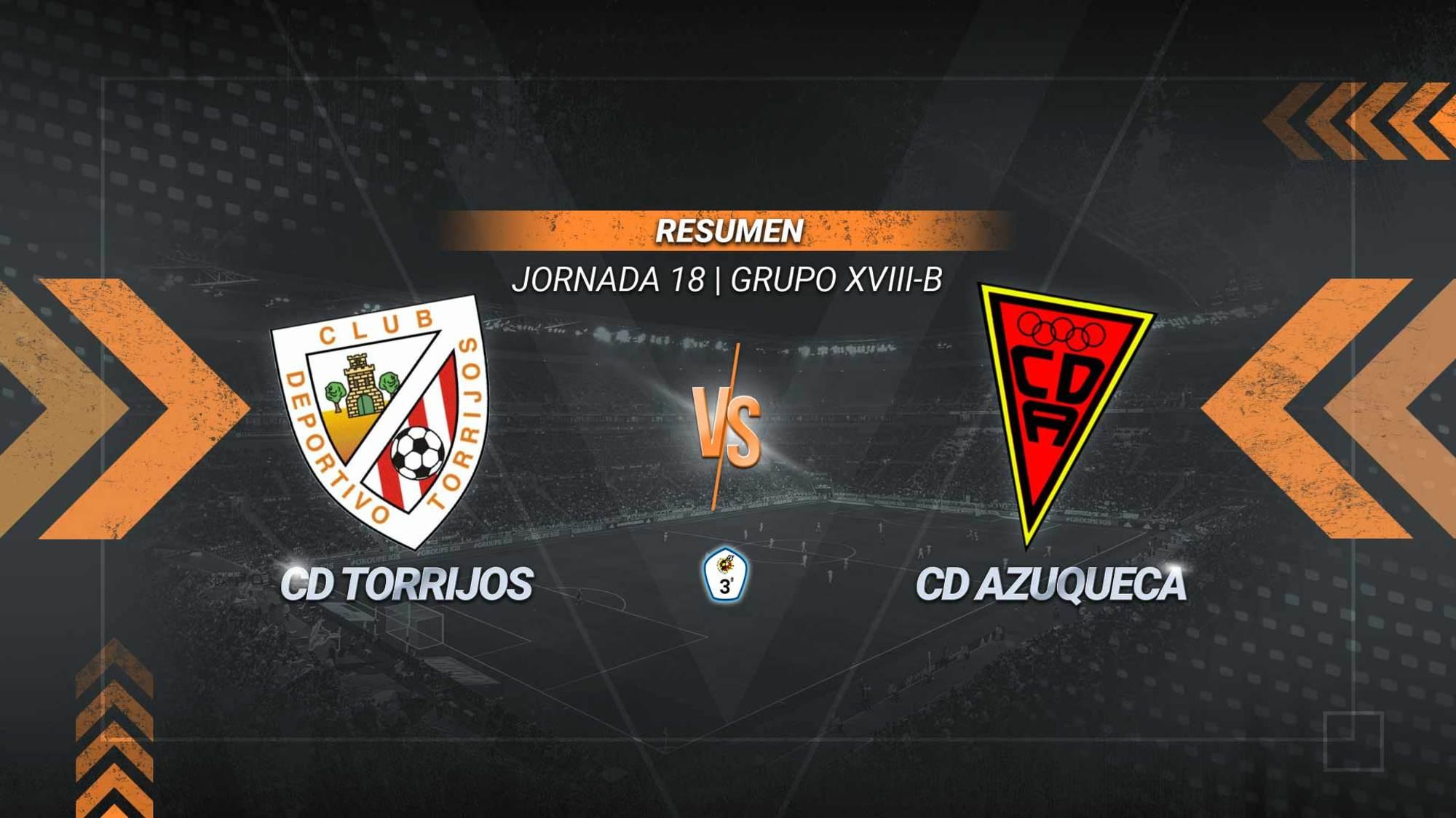 Un gol de Pedropa aúpa al Torrijos hasta la quinta posición. El Azuqueca se queda séptimo con 21 puntos.