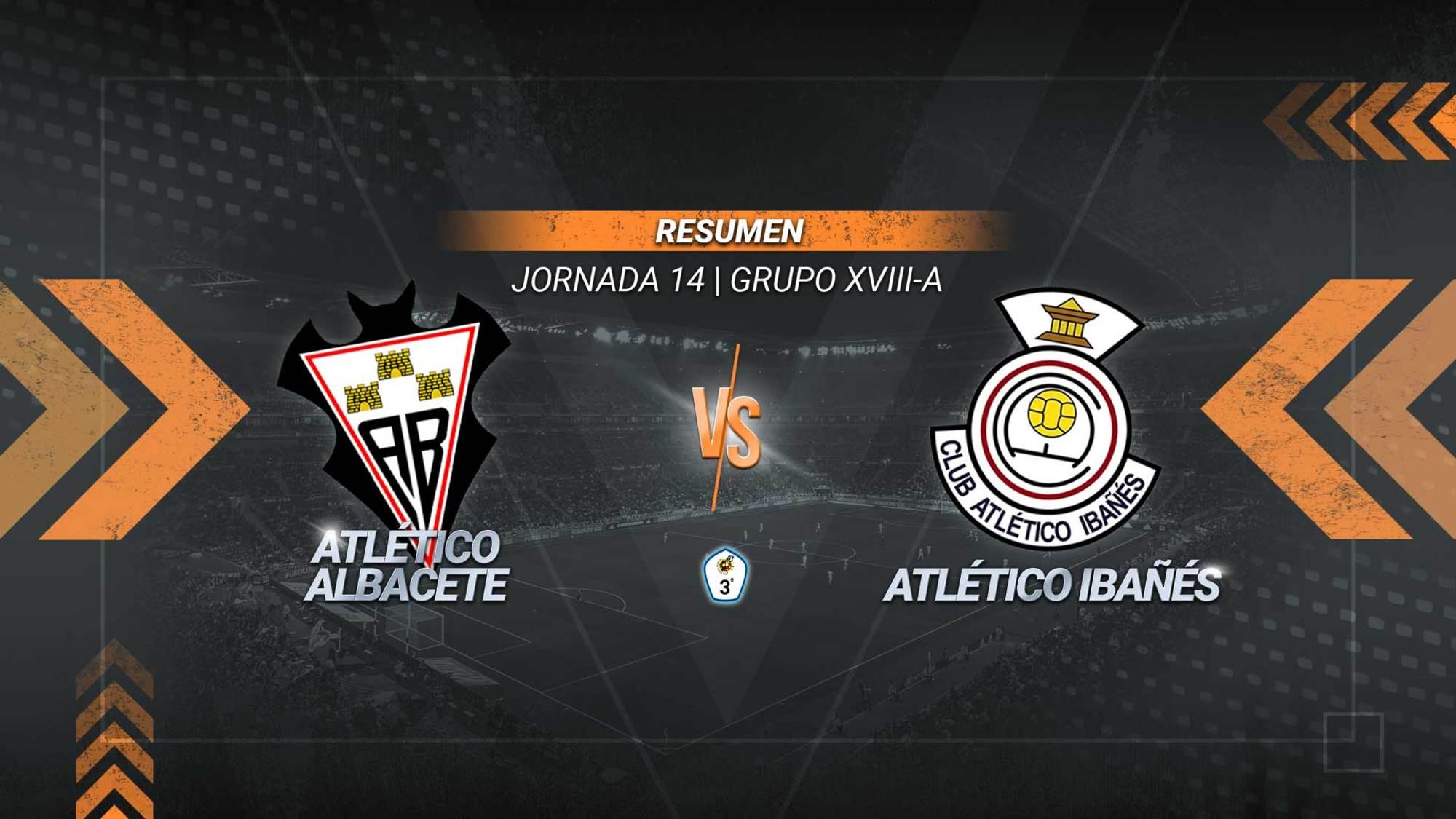 El Atlético Ibañés frena al líder y rasca un punto. El Atlético Albacete ve cortada una racha de cinco triunfos consecutivos, aunque se mantiene primer clasificado de forma provisional con 25 puntos. Los de Casas Ibáñez suman 11.