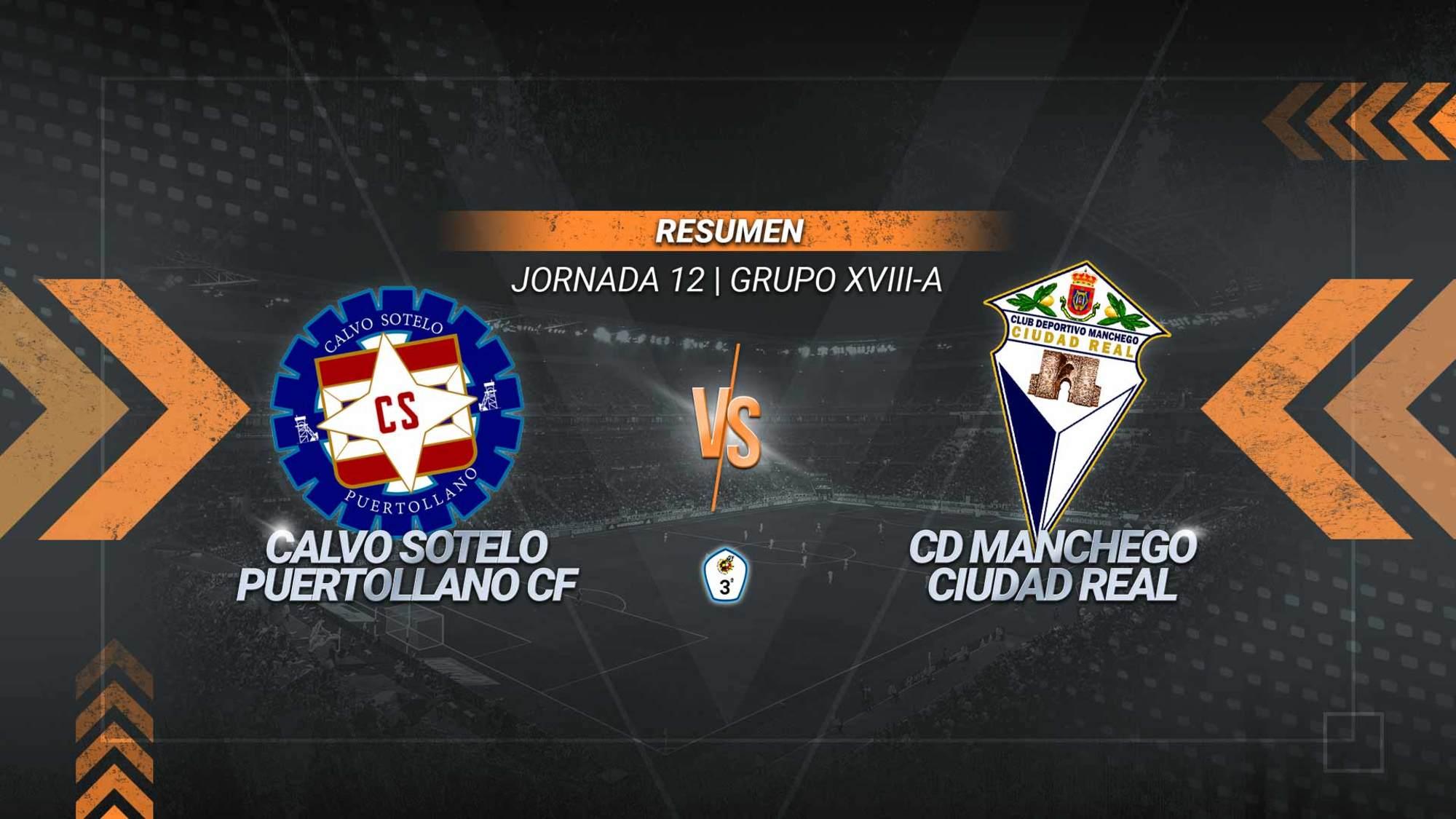 Calvo Sotelo y Manchego igualan en un entretenido derbi provincial. Juanfri adelantó a los industriales y Castro, desde el punto de penalti, igualó cinco minutos después para los mancheguistas.