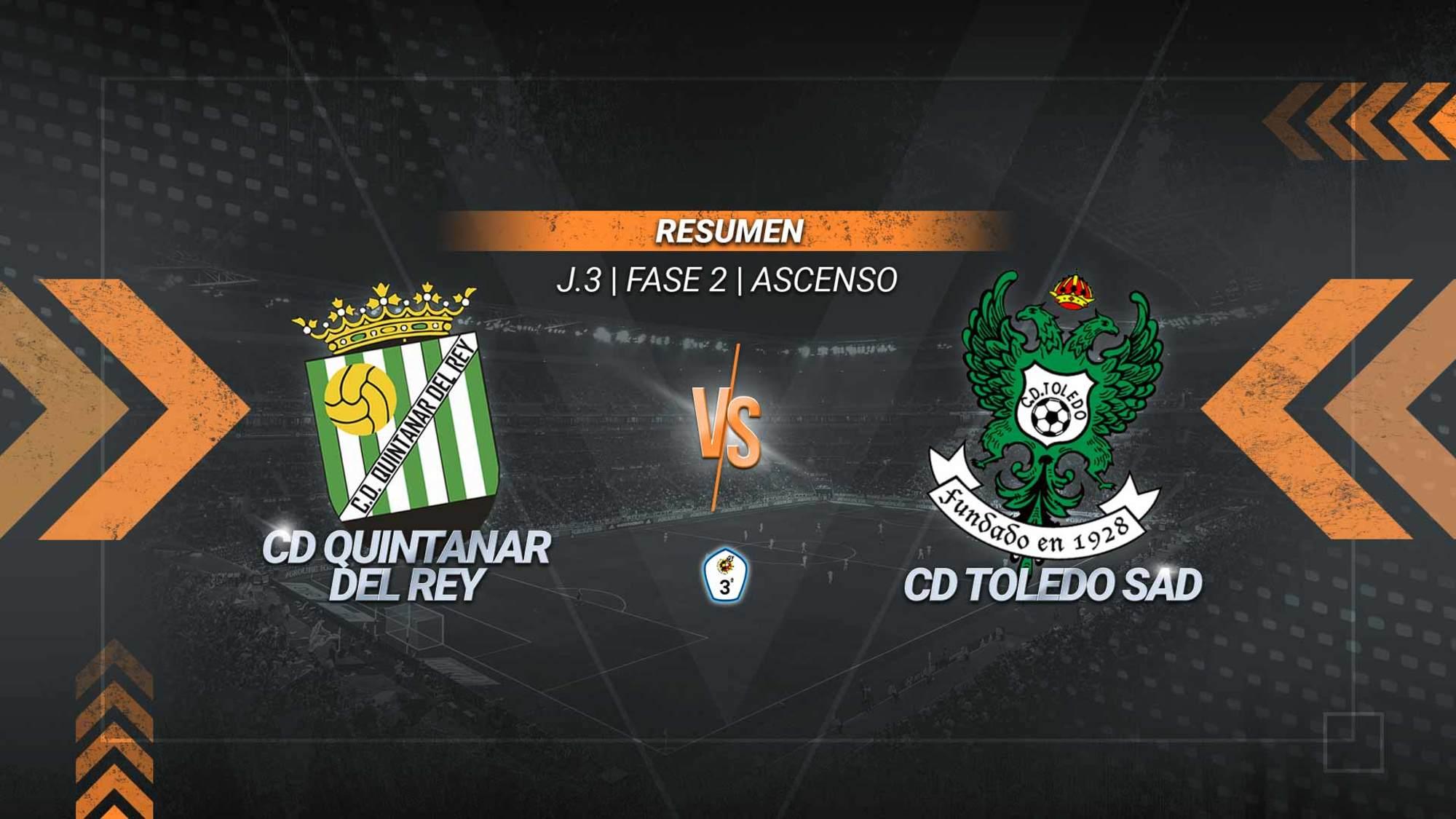 Quintanar y Toledo firman tablas en un partido marcado por la bronca. Mamau en los toledanos y Ricard y Chema en los quintanareños fueron expulsados. En el tramo final tuvo que entrar la Guardia Civil para poner paz.