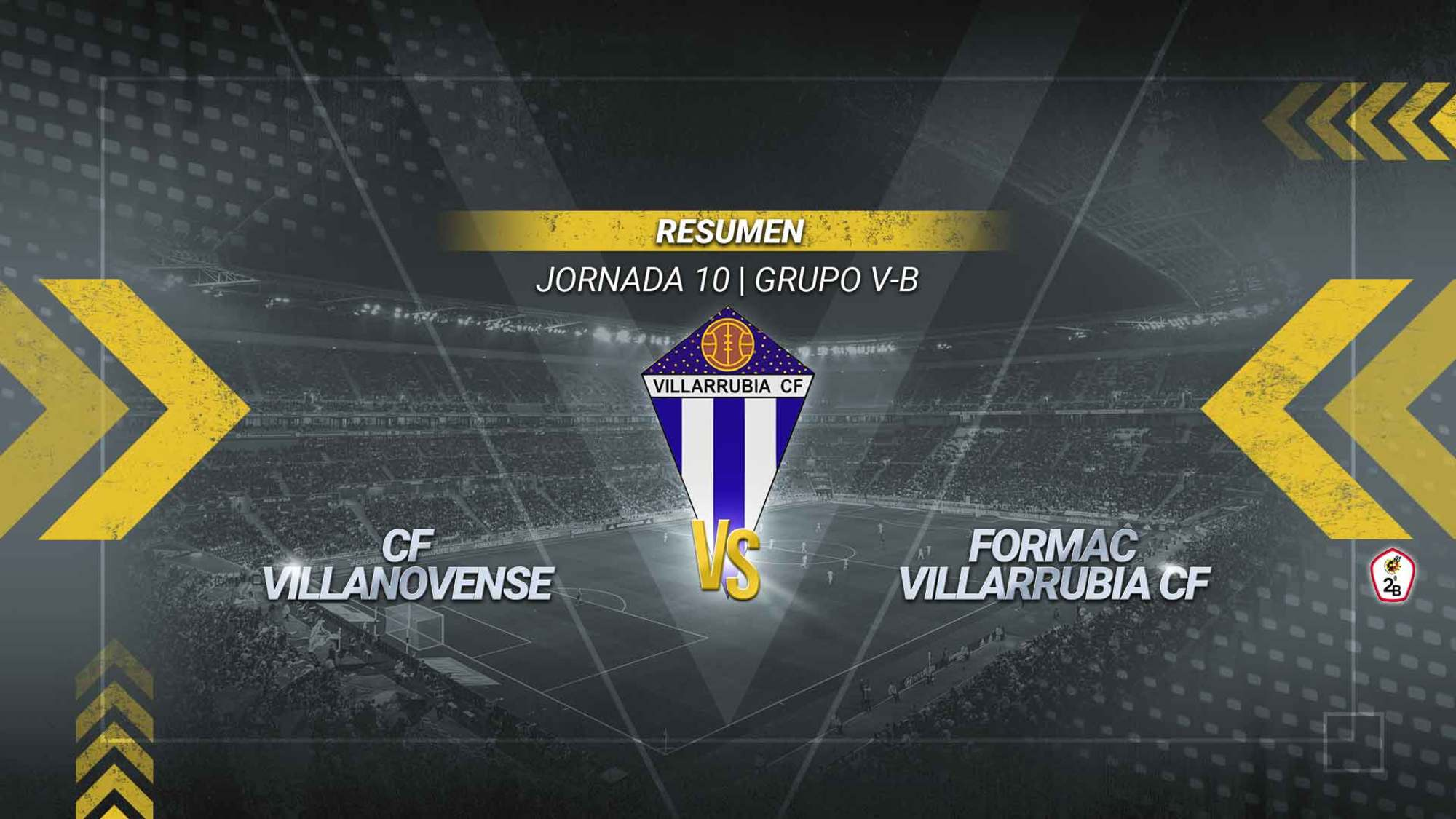 El Villarrubia rasca un punto en Villanueva de la Serena y vuelve a sumar. El gol de Álex Jiménez permite a los villarrubieros acabar con una mala racha de dos derrotas seguidas. Los de Javi Sánchez alcanzan los 12 puntos.