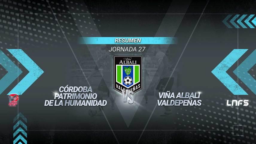 El Valdepeñas empata en Córdoba en un partido repleto de ocasiones que se pudo llevar cualquiera. Los de David Ramos suman un punto y siguen en puestos de playoffs.