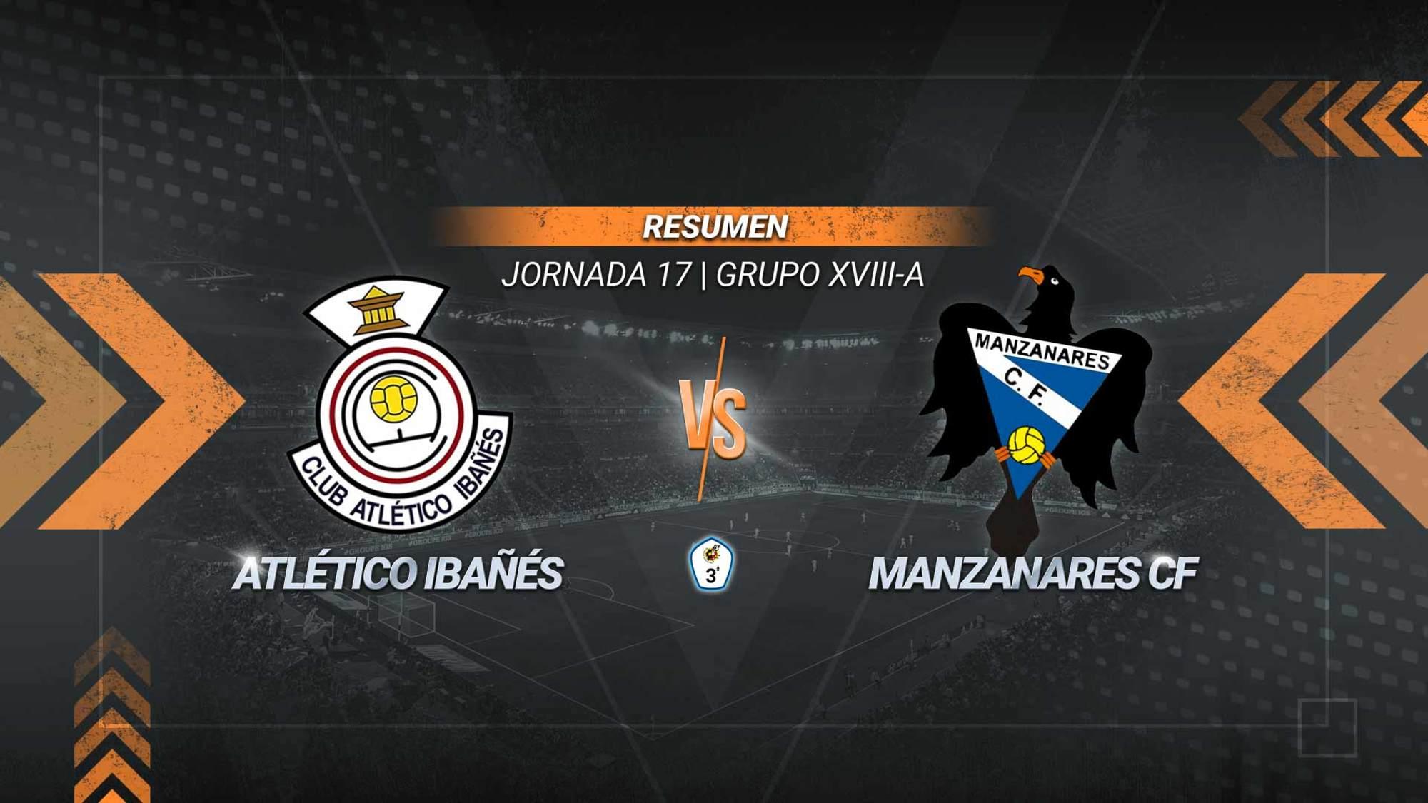 Atlético Ibañés y Manzanares empatan en un duelo directo por la salvación. Se adelantaron los manzanareños gracias a un gol de Othmane y empató el cuadro de Casas Ibáñez por mediación de Mondi.