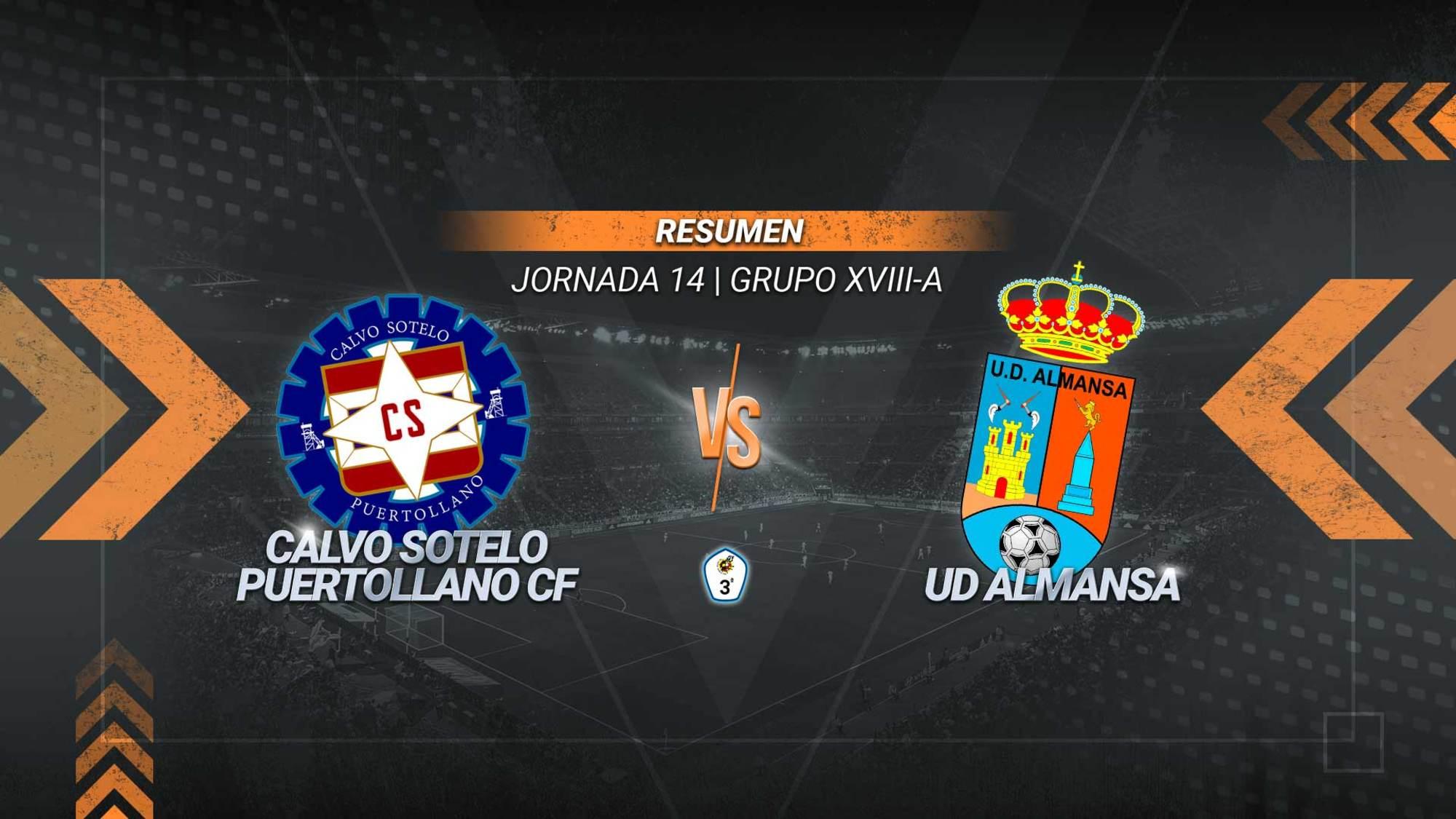 El Calvo Sotelo se impone al Almansa y suma el segundo triunfo consecutivo. Los goles de Iván Limón, Abraham y Julio permiten a los industriales alcanzar los 16 puntos. Los almanseños, en los que anotó Víctor Martí, se quedan con 11.
