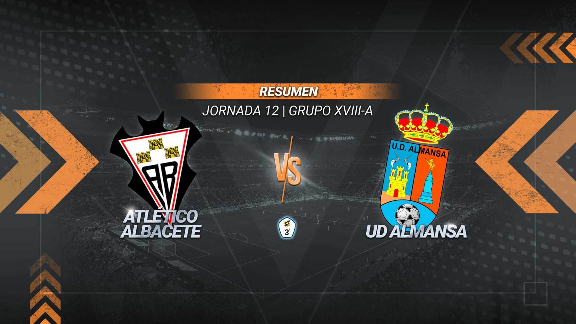 El líder sigue intratable y suma su victoria número once de la temporada. Víctor y Cortijo fueron los goleadores del filial ante un Almansa que es penúltimo del grupo y acumula cinco jornadas sin ganar.