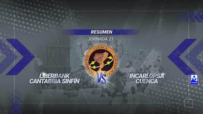 El equipo de Lidio Jiménez sigue con su marcha triunfal en la segunda vuelta y se impuso en tierras cántabras con una gran actuación bajo palos de Maciel y Sergio López como máximo goleador con ocho tantos.
