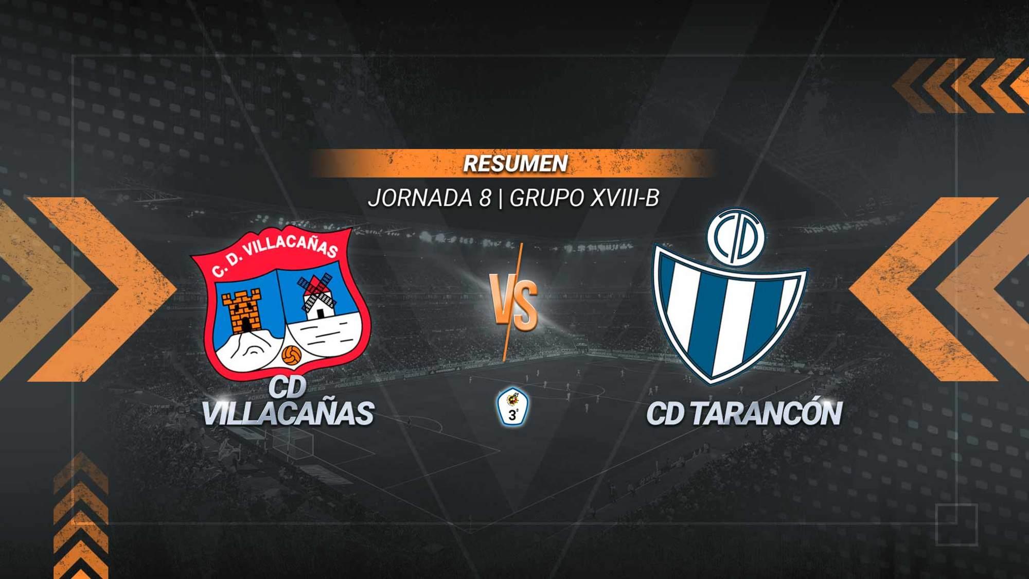 El Villacañas apea del liderato al Tarancón con un gol de Godoy en los primeros minutos de la segunda parte. El equipo villacañero acumula tres victorias consecutivas.