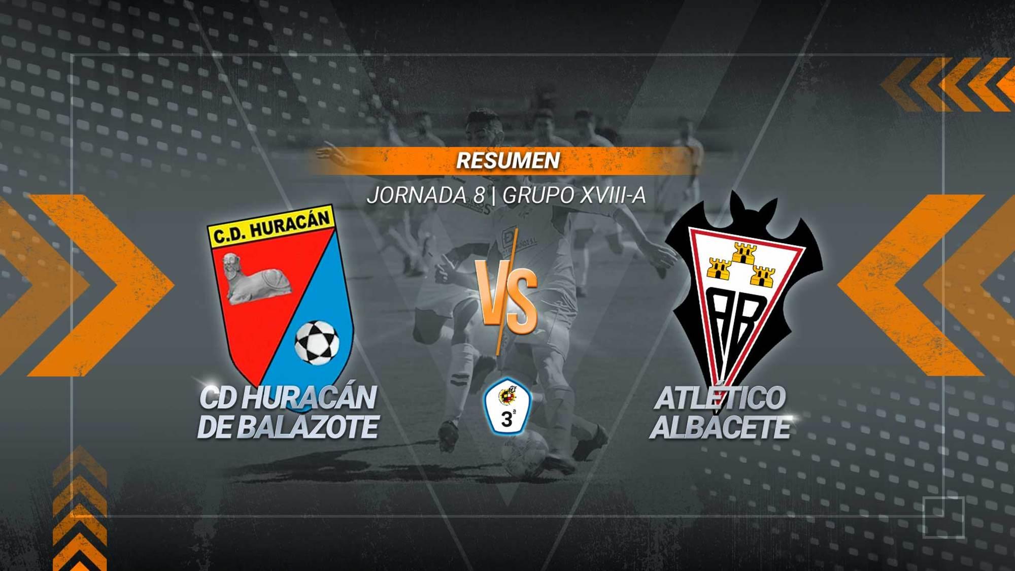 El Atlético Albacete golea al Huracán y es el nuevo líder del Subgrupo - A de tercera división. Los goles los anotaron Vargas, Toni Cuenca y Borja.