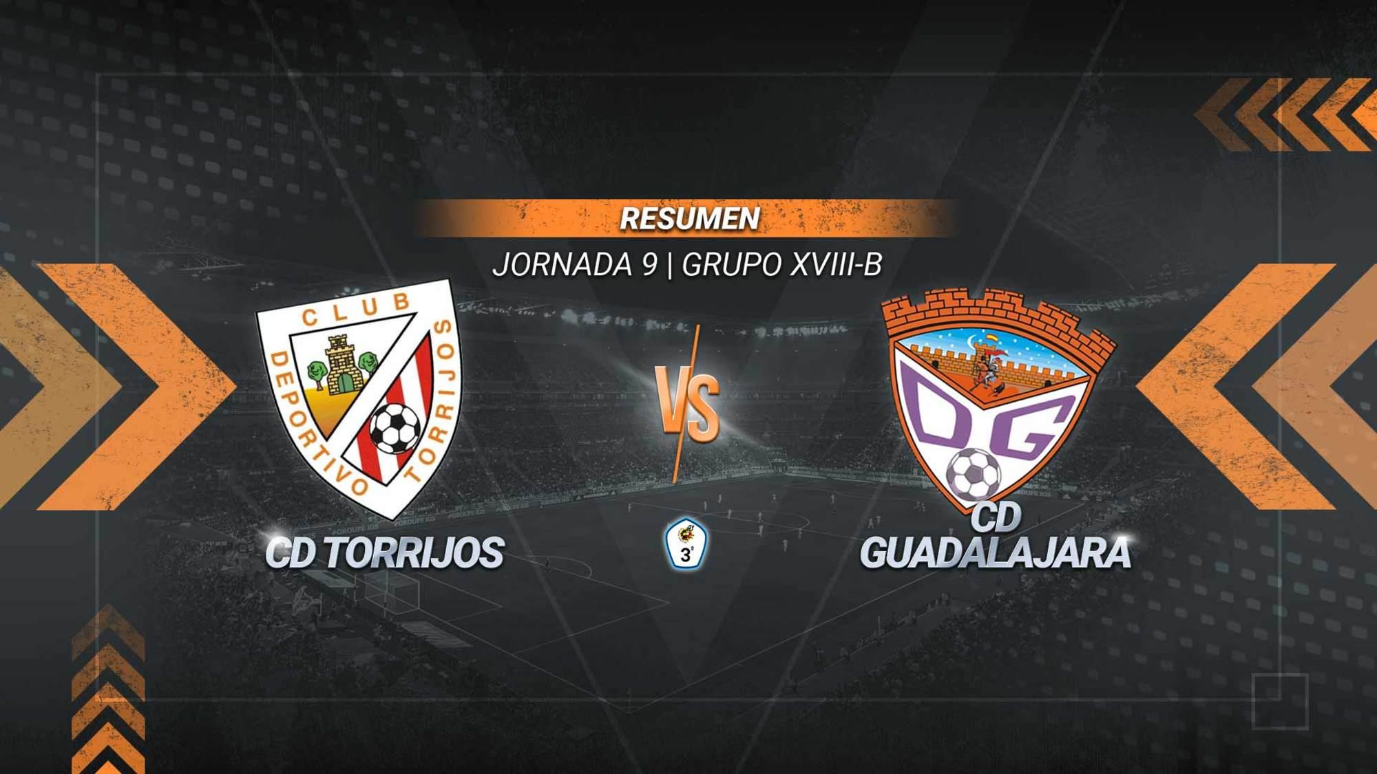 El Torrijos se impone al Guadalajara y le quita el liderato. Un gol de Ángel permite a los locales sumar la segunda victoria de la temporada. Los alcarreños caen a la cuarta plaza.