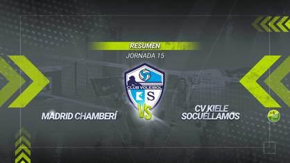 El Kiele Socuéllamos aplasta al Madrid Chamberí y suma una nueva victoria en la Liga Iberdrola. Las socuellaminasse impusieron por tres sets a cero y continúan en la lucha por el play-off.
