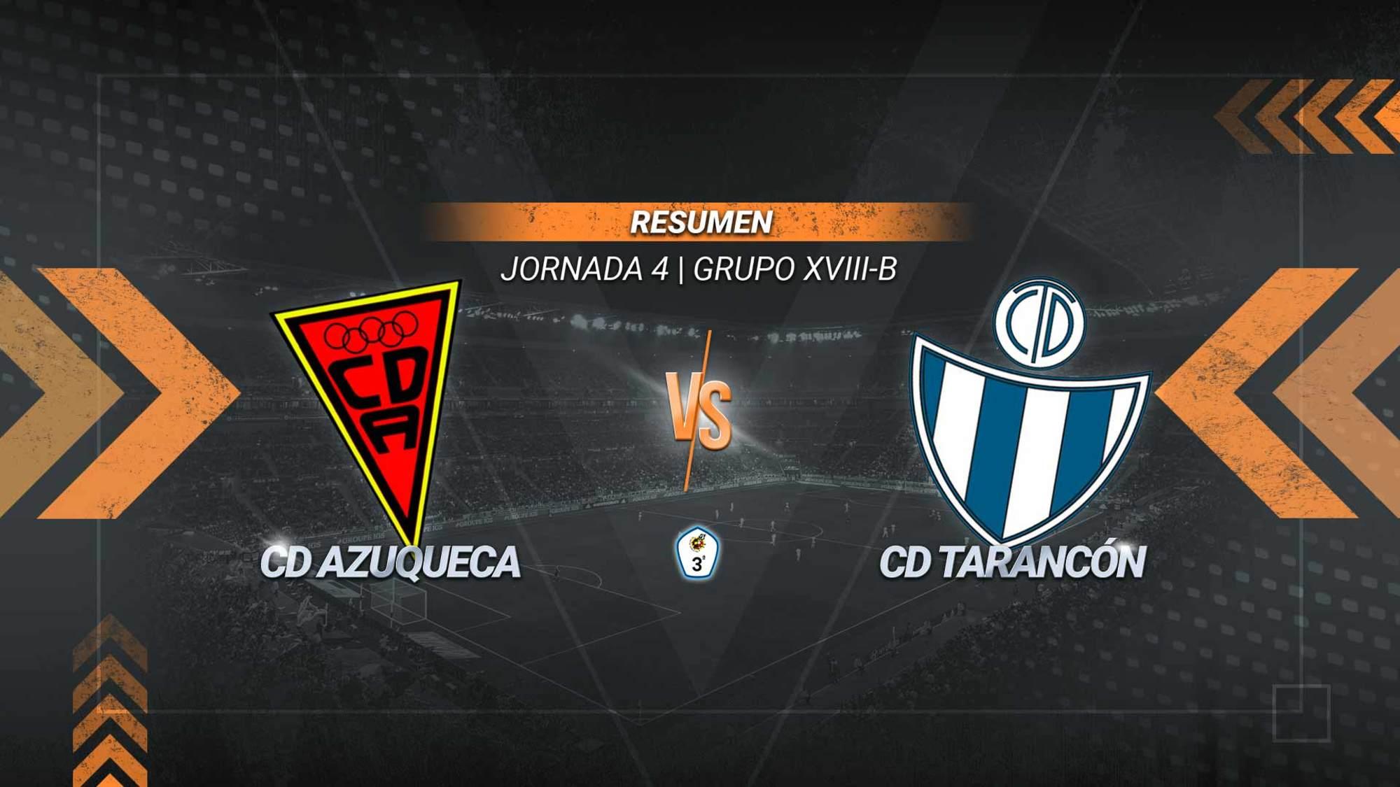 El Tarancón sigue imparable y cosecha en Azuqueca su cuarta victoria de la temporada con dos goles de Mazzocchi y uno de Iván Gil. El azudense Aitor Rubió falló un penalti con 0-0 en el marcador.