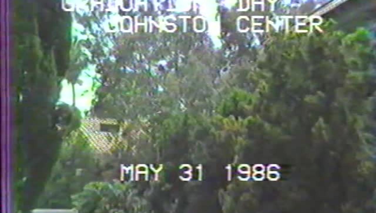 1986 Johnston Center Graduation