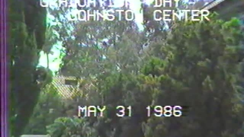 Thumbnail for entry 1986 Johnston Center Graduation