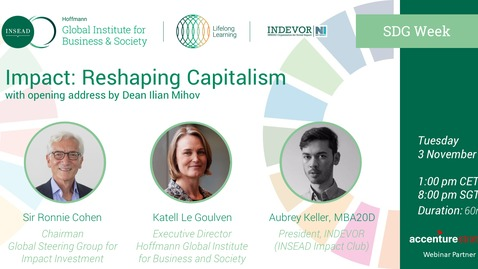 Thumbnail for entry Impact: Reshaping Capitalism