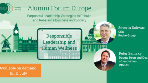 Thumbnail for entry Responsible Leadership and Human Wellness