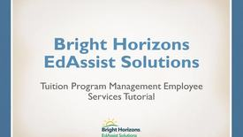 Thumbnail for entry EdAssist 5 Employee Services tutorial (Updated as of 12/11/2017)