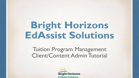 Thumbnail for entry EdAssist 5 Client and Content Admin tutorial Direct Bill w/ Book Applications (Updated as of 2/5/2018)