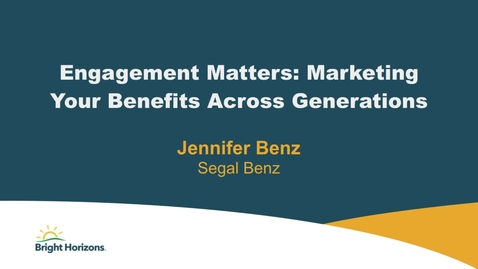 Thumbnail for entry NY Client Forum - Benz-Marketing Benefits
