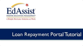 Thumbnail for entry EdAssist Loan Repayment Portal Tutorial