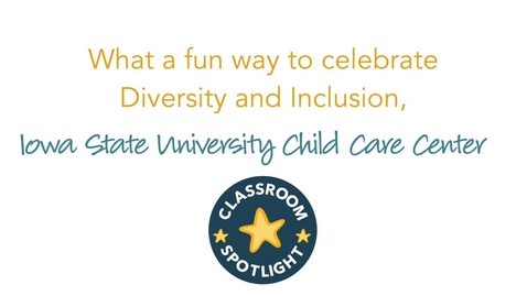 Thumbnail for entry Celebrating Diversity and Inclusion in the Classroom