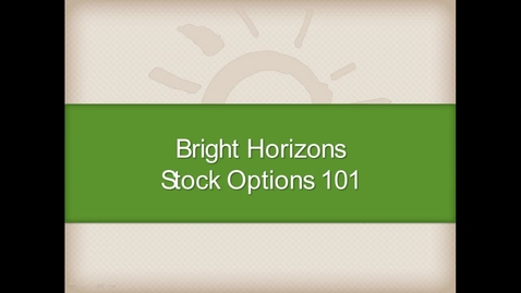 Thumbnail for entry Stock Options 2014