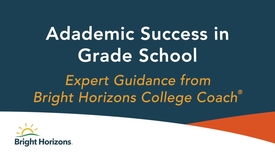 Thumbnail for entry Academic Success in Grade School