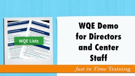 Thumbnail for entry WQE Demo- Director.m4v