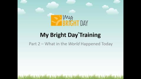 Thumbnail for entry My Bright Day - Part 2