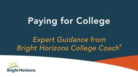 Thumbnail for entry Expert Guidance Paying for College
