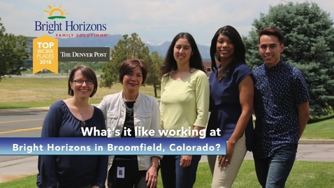 Thumbnail for entry Bright Horizons Corporate Colorado: Where Careers Take Off