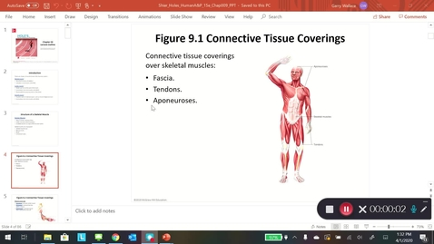 Thumbnail for entry ZOO Muscular system: section 9.1