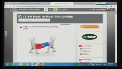 Thumbnail for entry Peer To Peer Mentorship