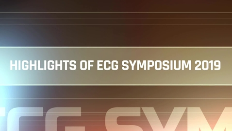 Thumbnail for entry Hightlight of ECG Symposium 2019
