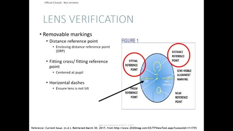 Thumbnail for entry Progressive lens verification
