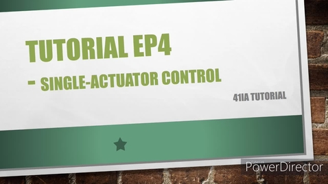 Thumbnail for entry WEEK 6 EP4 Tutorial