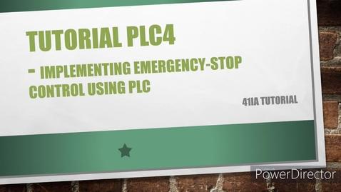 Thumbnail for entry WEEK 13 PLC4 Tutorial