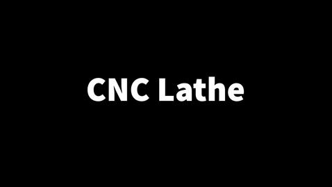 Thumbnail for entry CNC lathe