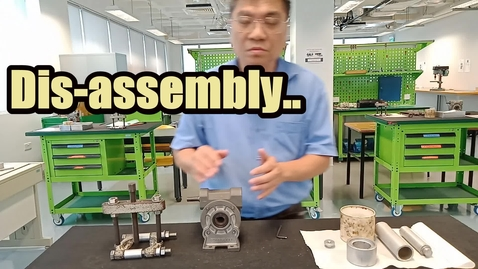 Thumbnail for entry Gearbox disassembly