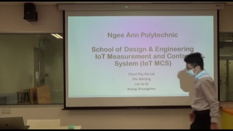 Thumbnail for entry DE's IoT + Attendance System Training (Video Cam)