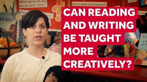 Thumbnail for entry Lecture 4 Can reading and writing be taught creatively?