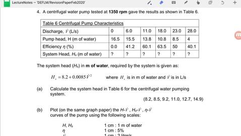 Thumbnail for entry Qn4 Revision Paper_Fluid Mechanics