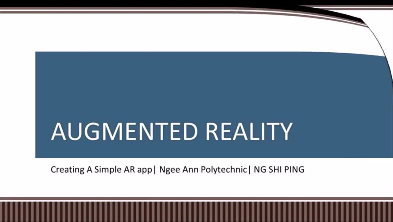 50IRP3_Augmented Reality Lab 1
