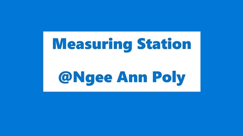 Thumbnail for entry 50IRP3_Measuring Station