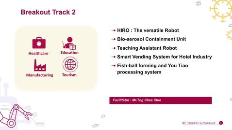 Thumbnail for entry NP Robotics e-Symposium Breakout Track 2