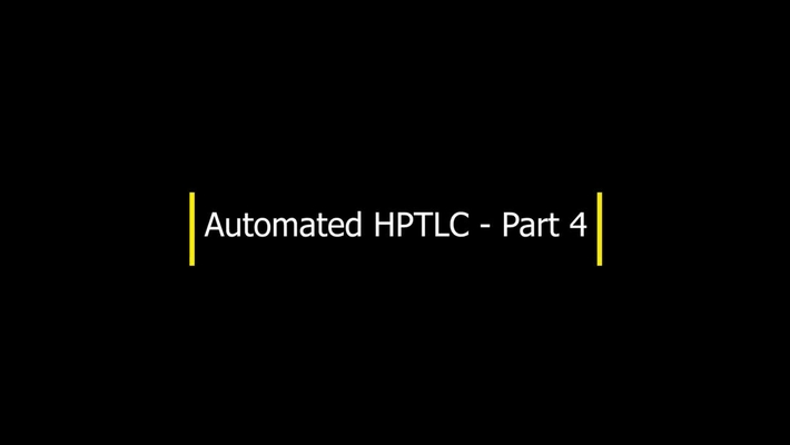 HPTLC - Part 4 - Developing the plate