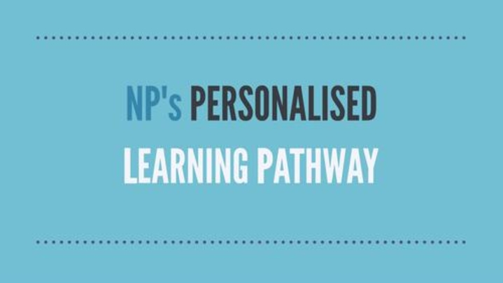 Thumbnail for channel NP's Personalised Learning Pathway (PLP) project