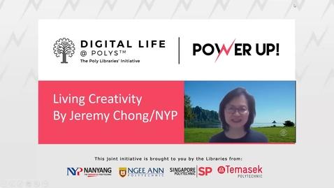 Thumbnail for entry Living Creativity
