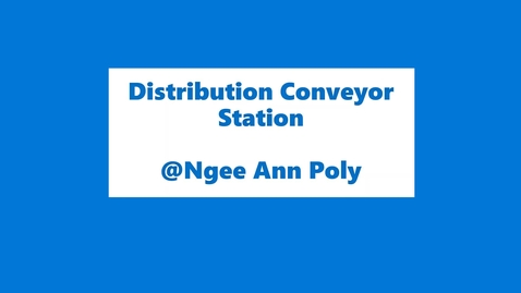 Thumbnail for entry 50IRP3_DistributionConveyorStation