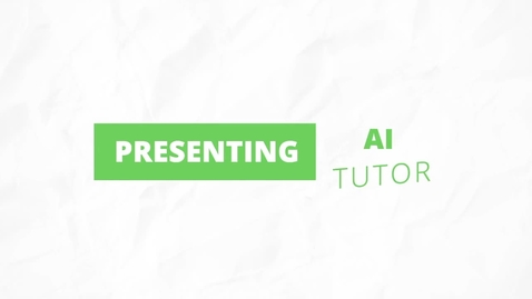 Thumbnail for entry HS AI tutor AskCher